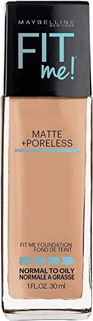 Maybelline Fit Me Matte & Poreless Mattifying Liquid Foundation - Soft Sand 124