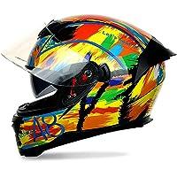 フルフェイスヘルメット バイクヘルメット オートバイヘルメット メンズ レディース ダブルシールド モトクロス 男女兼用…