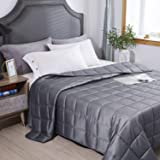 HomeSmart Products Weighted Blanket King Size 9kg 225x265cm - A True King Size Comforter - Provides Medium Pressure - Perfect