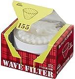 Kalita (カリタ) コーヒーフィルター ウェーブシリーズ ホワイト 1~2人用 50枚入り KWF-155 #22211