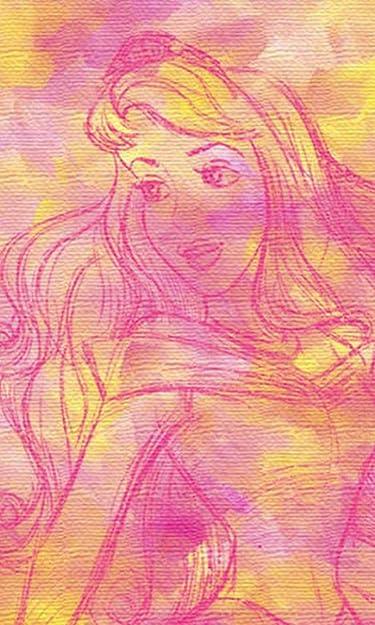 ディズニー  iPhone/Androidスマホ壁紙(480×800)-1 - オーロラ姫