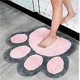 Big Feet Shape Rug Bath Toilet Mat Area Rugs Carpet Doormat Floor Mat Absorbent Mats Bathroom Rugs Living Room Bedroom Kitche