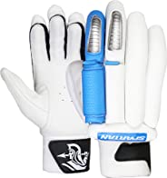 Spartan MS Dhoni Limited Edition Batting Glove, Adult-Unisex, Blue, Pack of 2