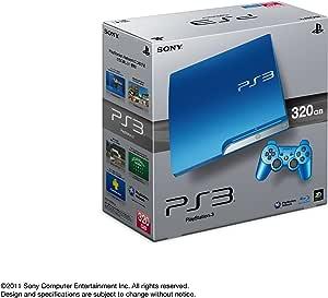 PlayStation 3 (320GB) スプラッシュ・ブルー (CECH-3000BSB)【メーカー生産終了】