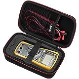 RLSOCO Carrying case for Fluke 117/115/116/114/113 Digital Multimeter and Fluke F15B+F17B+F18B+ Neoteck Pocket Digital Multim