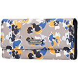Nautica Money Manager RFID Women's Wallet Clutch Organizer, Floating Floral Atmosphere,