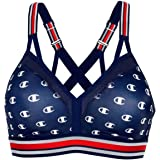 Champion Womens B1091P The Curvy Strappy-Print Sports Bra