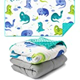Sweetzer & Orange Weighted Blanket for Kids 5lbs Heavy Blanket, Best for 42-63lb Children - Warming and Cooling Weighted Comf