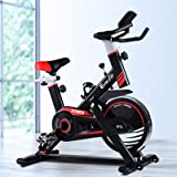 Exercise Bike Everfit Spin Bike 120KG Capacity w/Drink Holder Home Gym Fitness Machine Flywheel Indoor Cycling Adjustable Res