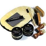 [銀座大賀靴工房] コロンブス ブートブラック BootBlack x オリジナル シューケア スターターセット(靴磨き…