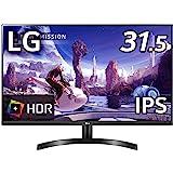 LG モニター ディスプレイ 32QN600-B 31.5インチ/WQHD(2560×1440)/IPS非光沢/HDR対応/FreeSync/HDMI×2、DP/フリッカーセーフ、ブルーライト低減モード搭載