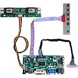 "GeeekPi HDMI+VGA+DVI+Audio Input LCD Controller Driver Board for HSD190MEN4 M170EN06 17"" 19"" 1280x1024 4CCFL 30Pins LCD Panel"