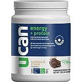UCAN Energy + Whey Protein Powder (19g) - Pre & Post Protein Powder with Energy Boost - Keto, No Added Sugar, Gluten-Free - C