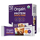 Orgain Organic Plant Based Protein Bar, S'Mores - Vegan, Gluten Free, Non Dairy, Soy Free, Lactose Free, Kosher, Non-GMO, 1.4