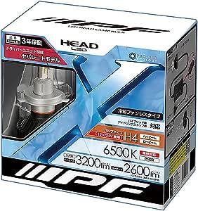 IPF ヘッドライト LED H4 バルブ 6500K コンパクトモデル 141HLB