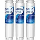 AQUA CREST 9000 077104 UltraClarity REPLFLTR10 Refrigerator Water Filter Replacement for Bosch Ultra Clarity 9000194412, 6448