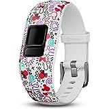 Garmin Disney Minnie Mouse Adjustable Accessory Band (for Vivofit Jr. and Vivofit Jr. 2), White