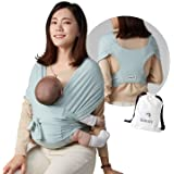 Konny Baby Carrier | Ultra-Lightweight, Hassle-Free Baby Wrap Sling | Newborns, Infants to 44 lbs Toddlers | Soft and Breatha