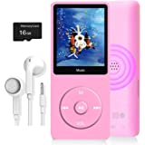 MP3 Player, Dyzeryk Music Player with 16GB Micro SD Card, Support Speaker, Photo Viewer, Video Play, FM Radio, Voice Recorder