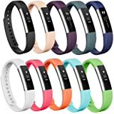AK Bands Compatible for Fitbit Alta/Fitbit Alta HR (10 Pack), Bands for Fitbit Alta/Alta HR