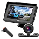 OBAST Backup Camera and Monitor Kit - Rear View Reversing Camera with Waterproof Night Vision and 4.3 ' LCD Monitor Power One