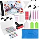 Diamond Painting A4 LED Light Pad Kit, LED Artcraft Tracing Light Table, Tools and Accessories Kit for Full Drill & Partial D