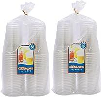 中村 透明杯 PET树脂 业务用 50个装 425ml