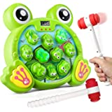 Bu-buildup BBU.05.001 Whack a Frog Activity Game, Early Development Toy with Light and Sound, Baby Interactive Fun Toy, Gift