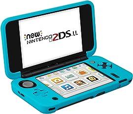 KetenTech Nintendo NEW 2DS LL カバー シリコンカバー ニンテンドー 2DS ソフトケース 任天堂 new 2ds ll ソフトカバー 全面保護 高品質保護カバー