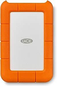 LaCie HDD ポータブルハードディスク 4TB 衝撃吸収 Rugged Mini USB3.0 & USB3.1 & USB-C 2EUAPA