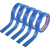 【Amazon 限定ブランド】ADHESマスキングテープ 養生テープ 和紙テープ 塗装用 多用途 UV抵抗 幅24mm×長さ18m 5巻入り HCC1109