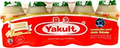 Yakult Cultured Milk Drink Green Apple, 100ml (Pack of 5) - Chilled