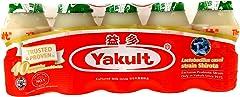 Yakult Cultured Milk Drink Green Apple, 5 x 100ml- Chilled