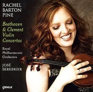 クレメント:ヴァイオリン協奏曲/ベートーヴェン:ヴァイオリン協奏曲 Op. 61 (パイン/ロイヤル・フィル/セレブリエール)