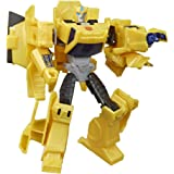 Transformers Bumblebee Cyberverse Adventures Action Attackers Warrior Class Bumblebee Action Figure, 5.4-inch,E7084
