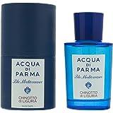 Aqua di Parma Blue Mediterranean Chinotto di Liguria Eau de Toilette Spray for Unisex, 75 ml