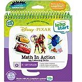 LeapFrog 80-461900 Leapstart Book- Pixar Pals, Math In Action 3D Disney Pixar Level 3