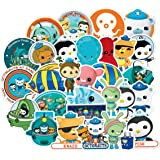The Octonauts Sticker Pack of 50 Stickers - Waterproof Durable Stickers Classic Cartoon Anime Stickers for Laptops, Computers