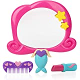 Nuby Mermaid Mirror Bath Toy Set, 3 Yrs+, 3pc