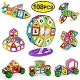 VOOPH 磁石ブロック 知育玩具 108ピース