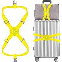 ZINZ 旅行便利グッズ バッグとめるベルト 便利グッズ 多用 調整可能 軽量 荷物用弾力固定ベルト ずり落ち防止 イエ…
