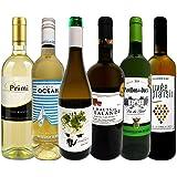 大満足白ワイン6本セット 辛口 白ワイン 飲み比べセット フランス イタリア スペイン 有名産地から直輸入 京橋ワイン