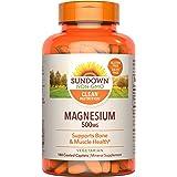 Sundown Naturals Magnesium 500 mg, 180 Caplets