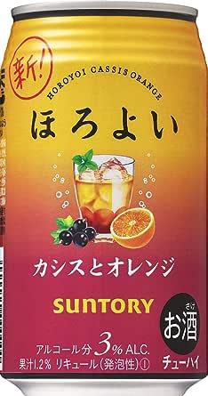 サントリー ほろよい【カシスとオレンジ】 [ チューハイ 350mlx24本 ]