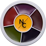 Narrative Cosmetics 6 Color Bruise Wheel for Special Effects, SFX Theatrical Makeup and Halloween