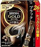 ネスカフェ ゴールドブレンド コク深め スティック ブラック 26P ×3箱