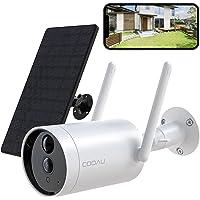 【最新型電池式・完全無線】COOAU 防犯カメラ 屋外 ソーラー ワイヤレス/WiFi 1080P 15000mAh高容…