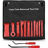 Car Trim Removal Tool Kit Interior ? LEDAUT Car Door Upholstery Trim Clip Panel Remover Nylon Fiber Fastener Removing Tool fo