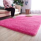 Noahas Luxury Fluffy Rugs Ultra Soft Shag Rug for Bedroom Living Room Kids Room, Child and Girls Shaggy Furry Floor Carpet Nu