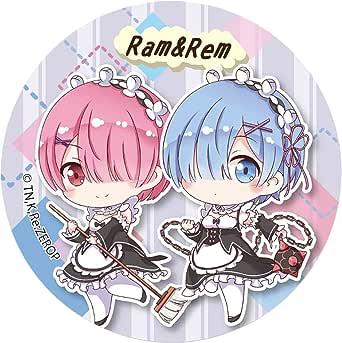 Re:ゼロから始める異世界生活 ラム & レム てくトコ缶バッチ part2